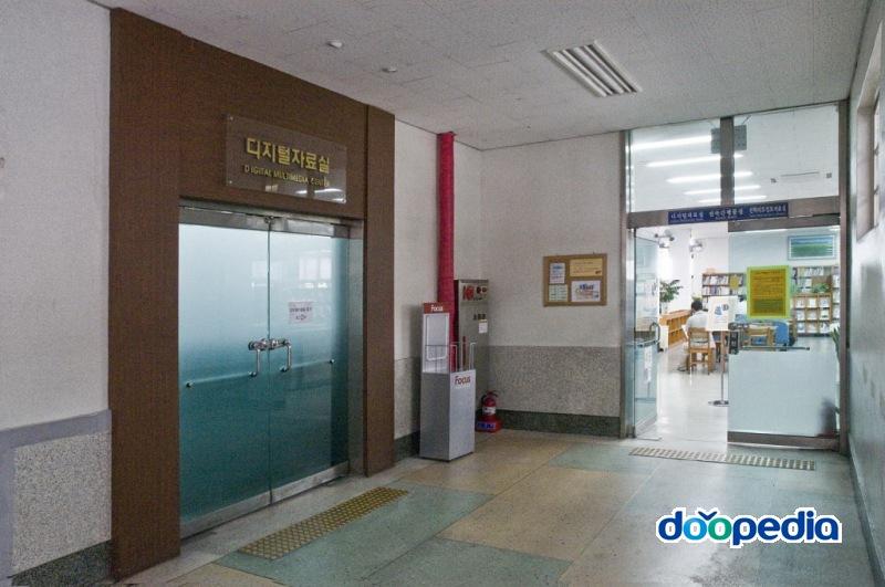 부산광역시립부전도서관 2층 디지털자료실, 연속간행물실, 진학지도정보자료실