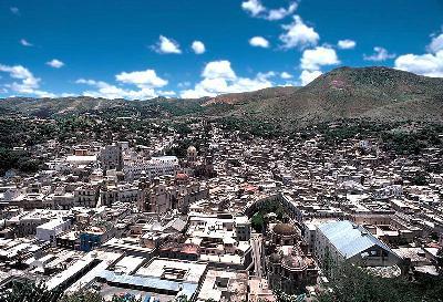 과나후아토 역사 마을과 주변 광산지대
