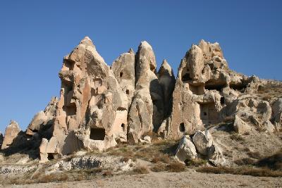 궤레메국립공원과 카파도키아 바위유적