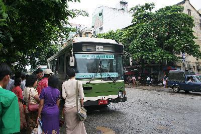 미얀마의 교통