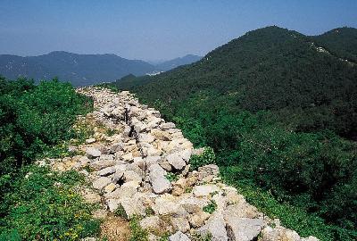삼국시대의 석축산성, 김해 분산성