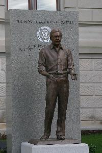 카터 39대 미국 대통령에 취임