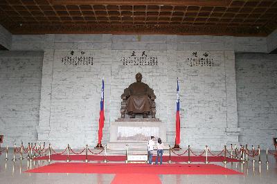 장개석 총통 사임