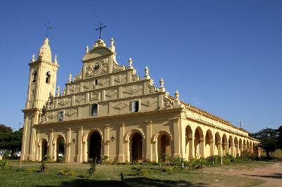 라 산티시마 트리니다드 데 파라나와 헤수스 데 타바란게의 예수회 선교단 시설