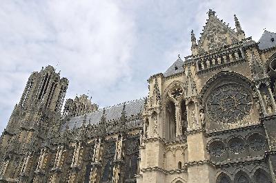 프랑스 고딕양식을 대표하는 걸작품, 랭스 대성당