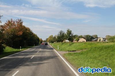아우토반에서 로덴부르크 성 가는 길
