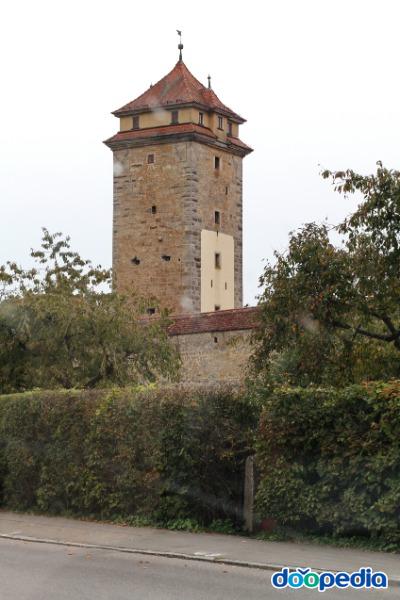 로덴부르크 성, 첫번 망루