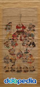 사나다 보물관, 다케다신겐의 중신 사나다 가