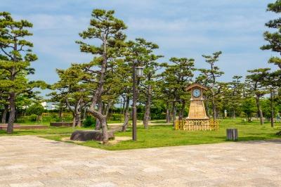 기시와다성, 니노마루 공원