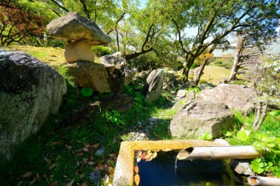 구 도쿠시마성 오모테고텐 정원(명승)