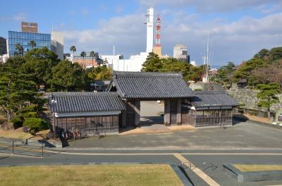 도쿠시마성, 와시노몬