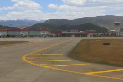 샹그릴라 공항 이륙 05