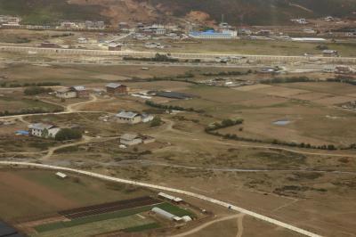 샹그릴라 공항 이륙 11