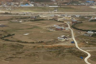 샹그릴라 공항 이륙 12