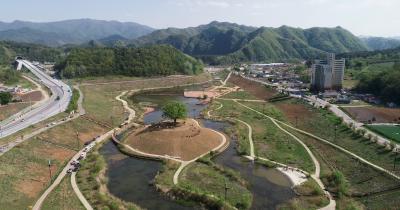 영월 강변 저류지 수변공원