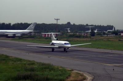 셰레메티예보 국제공항 이륙