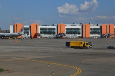 셰레메티예보 국제공항 터미널 E 에이프런