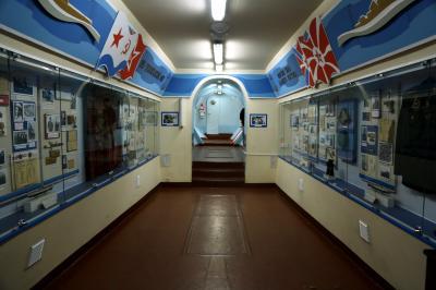러시아 잠수함 전시회 C-56, 내부