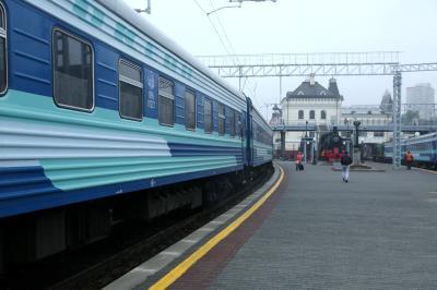 블라디보스토크에서 하바롭스크까지 가는 5번 열차