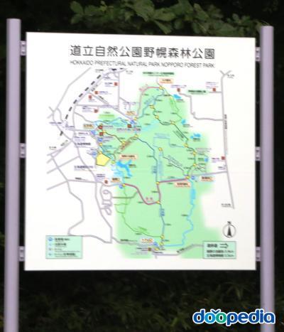 삼림공원 안내