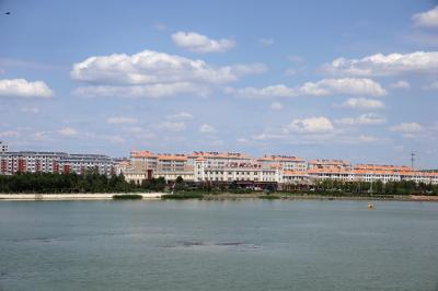 샹그릴라 호텔 다롄 앞 호수 10