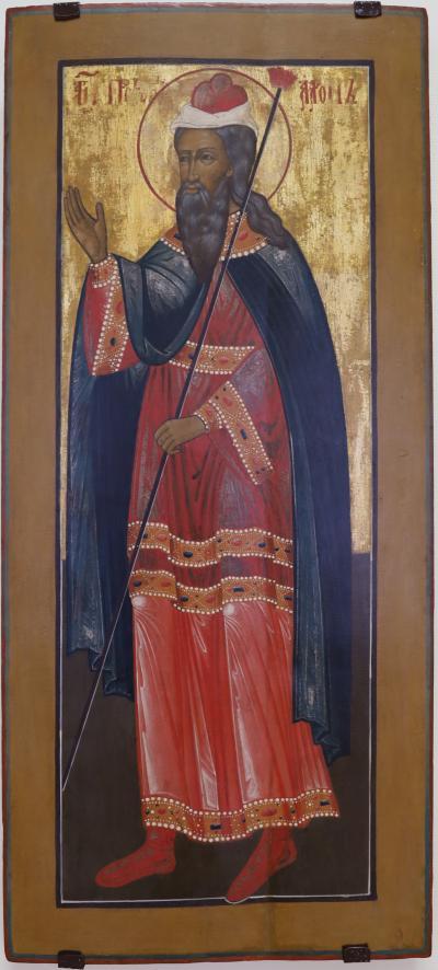 노보시비르스크 미술관, 예언자 아론 01