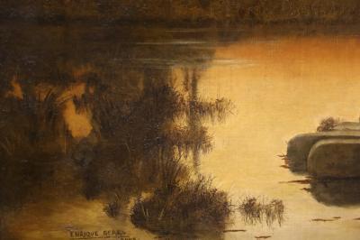 예카테린부르크 미술관, 세라에 오크, 엔리케 '가톨릭의 폐허가있는 풍경' 04