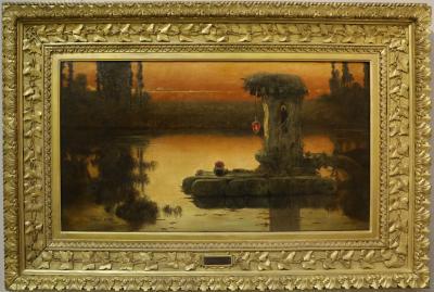 예카테린부르크 미술관, 세라에 오크, 엔리케 '가톨릭의 폐허가있는 풍경' 01