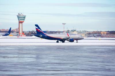 셰레메티예보 공항의 겨울 04