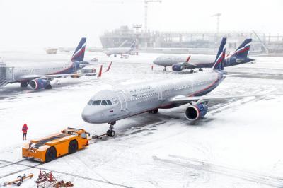 셰레메티예보 공항의 겨울 06