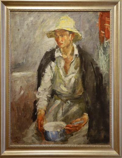 카잔 국립 미술관, 흰 모자의 타타린 01
