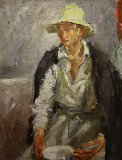 카잔 국립 미술관, 흰 모자의 타타린 02