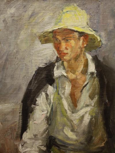 카잔 국립 미술관, 흰 모자의 타타린 05