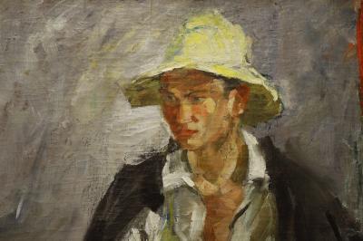 카잔 국립 미술관, 흰 모자의 타타린 06