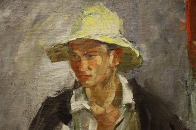 카잔 국립 미술관, 흰 모자의 타타린 03