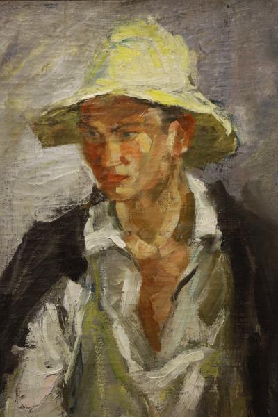 카잔 국립 미술관, 흰 모자의 타타린 04