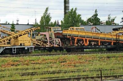 러시아 철도 선로수리 차 01