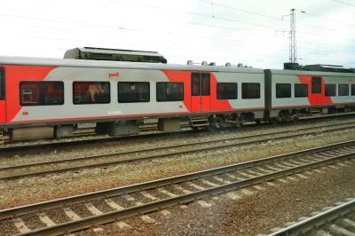 러시아 철도 통근열차 05