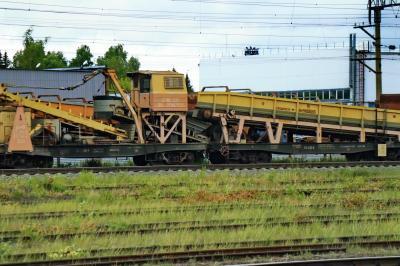 러시아 철도 선로수리 차 02