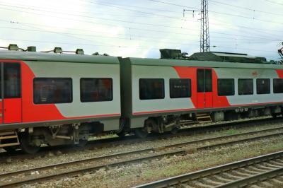러시아 철도 통근열차 06