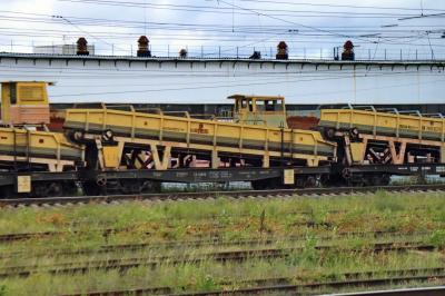 러시아 철도 선로수리 차 03