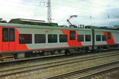 러시아 철도 통근열차 07