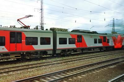 러시아 철도 통근열차 08