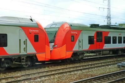 러시아 철도 통근열차 03
