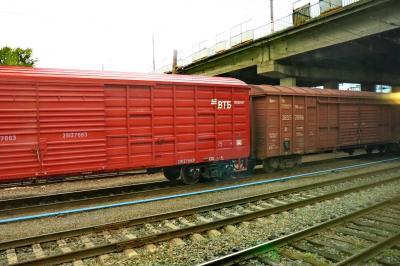 러시아 철도 화물열차 03