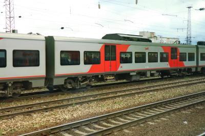 러시아 철도 통근열차 04