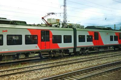 러시아 철도 통근열차 09