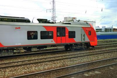 러시아 철도 통근열차 02
