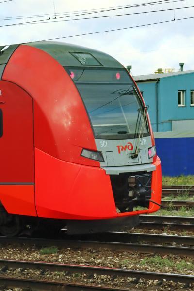 러시아 철도 통근열차 10