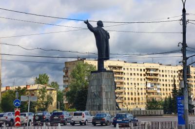 니즈니 노브고로드역에서 알렉산드로 네프스키 성당 가는 길